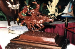 THE KNIGHT - Pastry Centrepiece - GOLD MEDAL