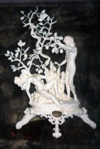 ADAM & EVE - Butter Sculpture - BRONZE MEDAL