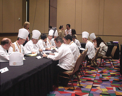 Judging community solving some conflict issues - 2004.