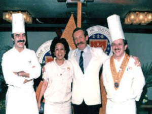 With Chef Meyer and GM Jean Wasser.