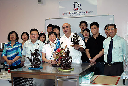 During my Seminar at BITC Singapore.