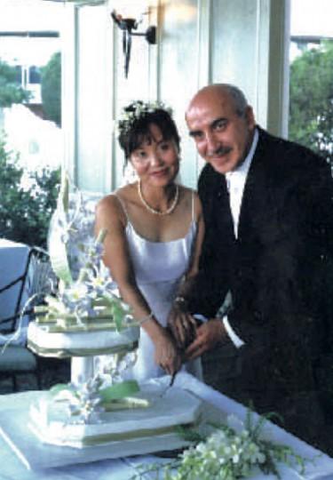 My wedding with Jiuan.