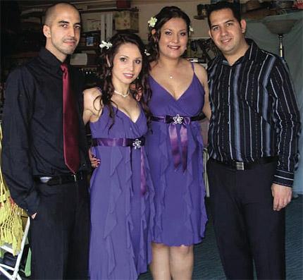 Serkan, Jayda, Sue, Orcun.