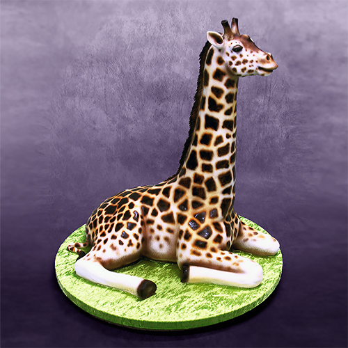 D Animal Cakes
