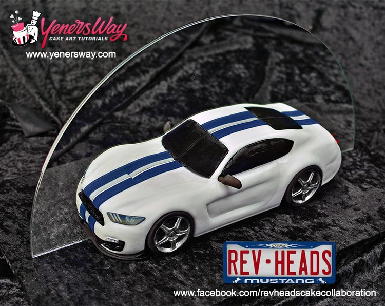 Rev Heads Cake Collaboration For Ford Mustangs 50th Anniversary
