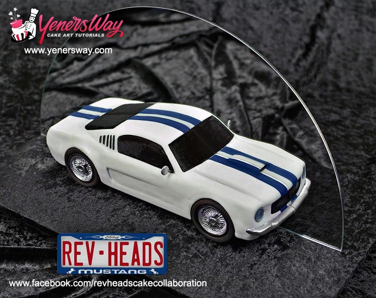 Rev Heads Cake Collaboration For Ford Mustangs 50th