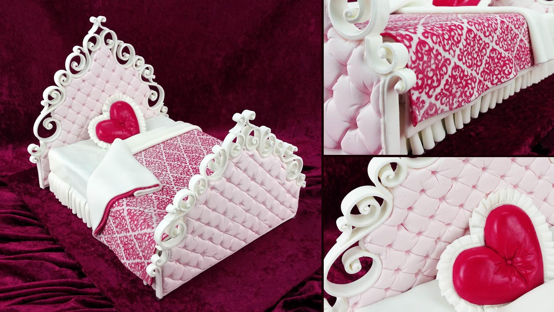 Valentines Bed Cake Yeners Way