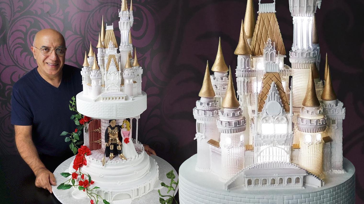 Medieval Castle Cake Ideas