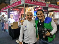 With Miguel Maestre from The Living Room