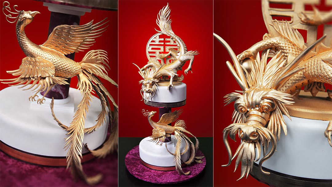 Dragon And Phoenix Cake Yeners Way