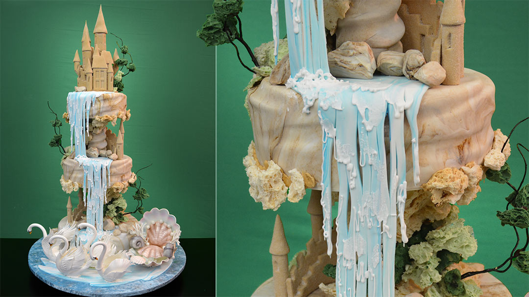 Waterfall Wedding Cakes Pictures