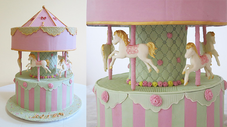 Cake Decorating Carousel : The Carousel - Yeners Way