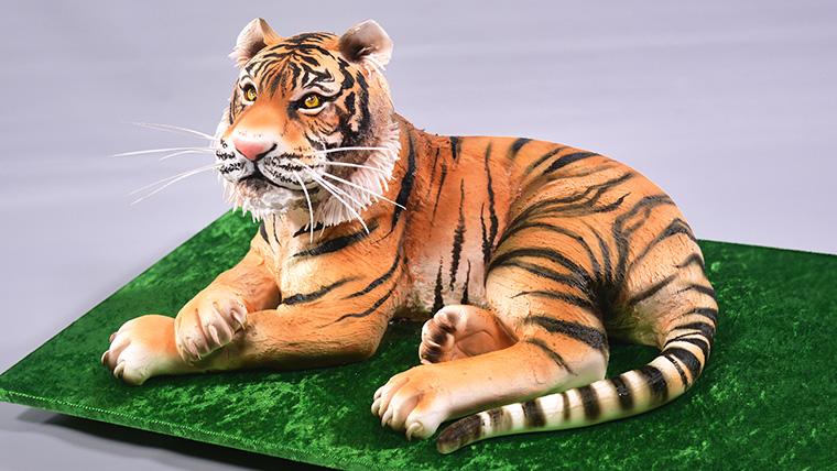 How To Make Tiger Print Cake