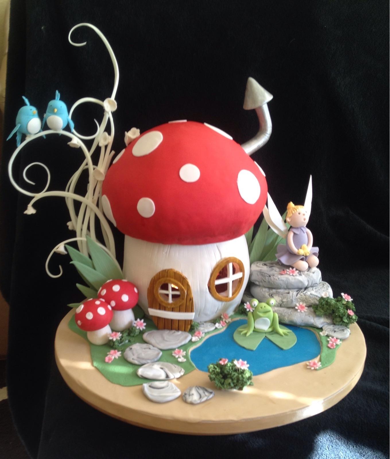 3d Toadstool Cake Yeners Way