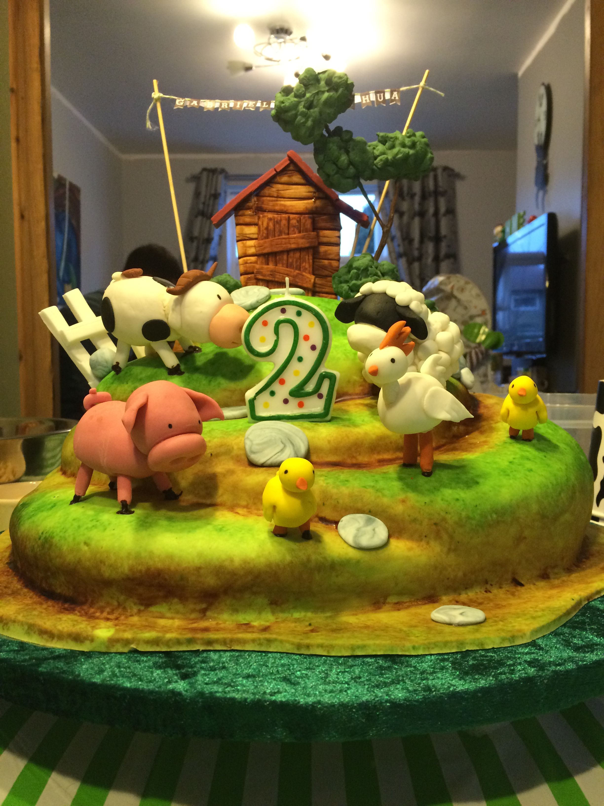 Farm Cake Tutorial By Yeners Way Cake Art Tutorials