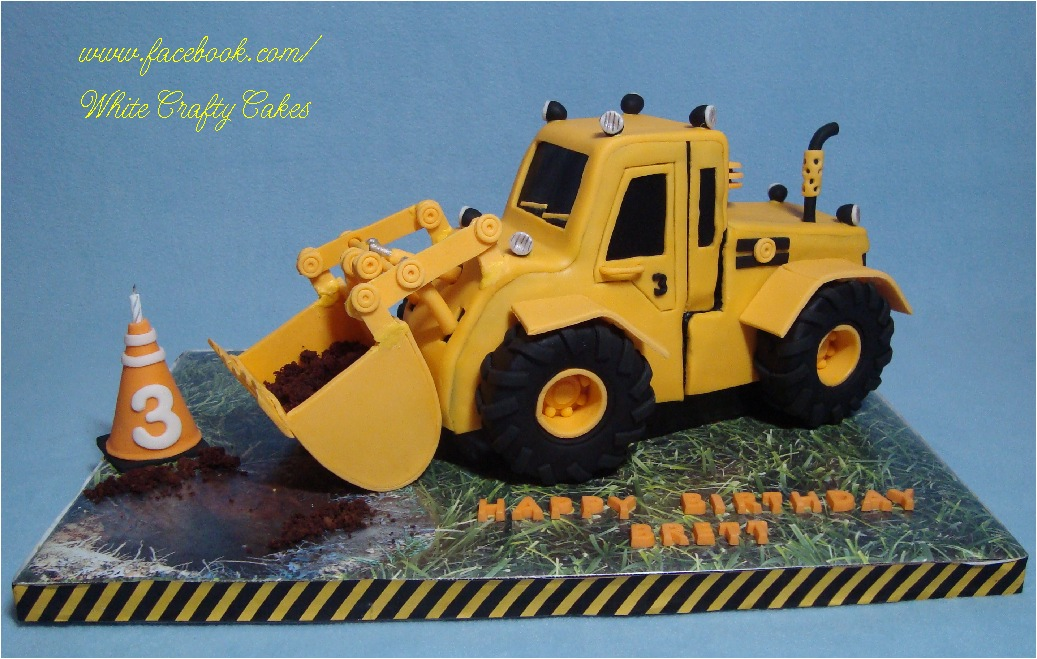 3d Digger Cake Tutorial By Yeners Way Cake Art Tutorials