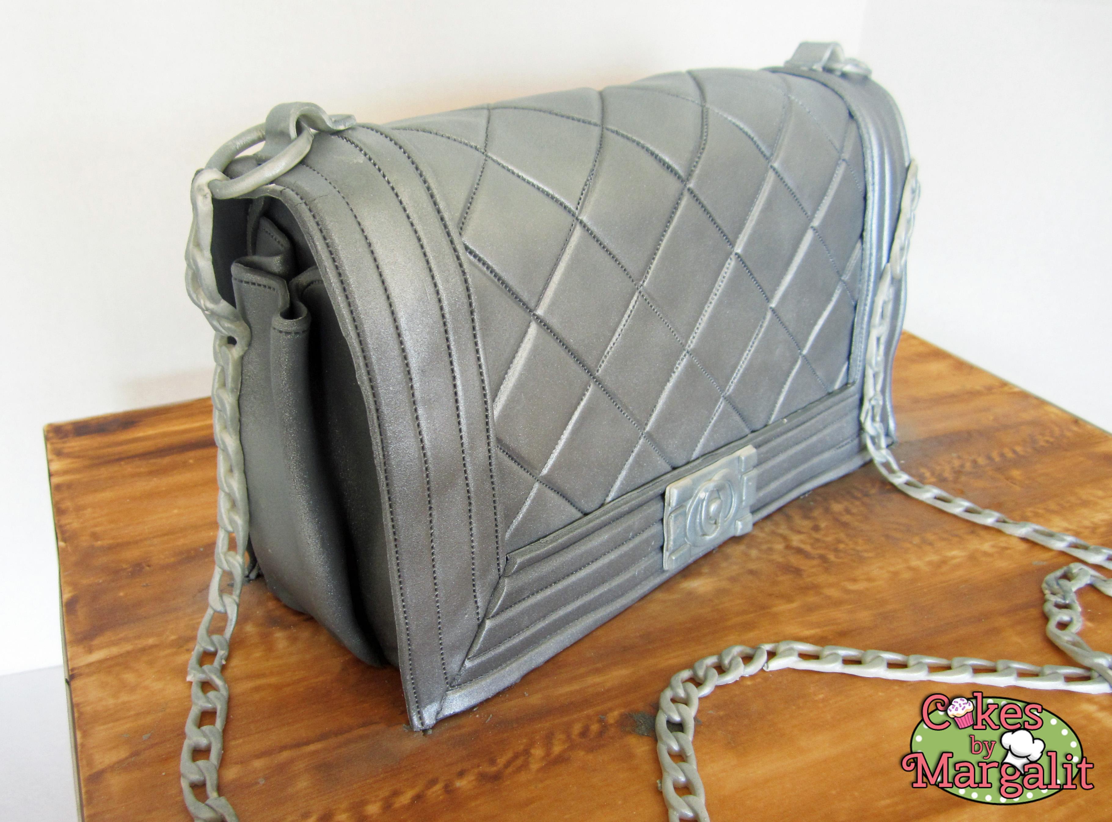 Silver Chanel Handbag Cake 20170124 175346