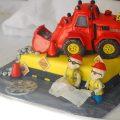 3D Digger cake