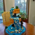 Waterfall Cake by Bobbi