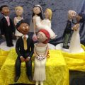 Funny Couple Figurines