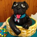 Pug Cake for my granddaughter