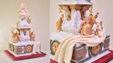 Baroque Style Wedding Cake