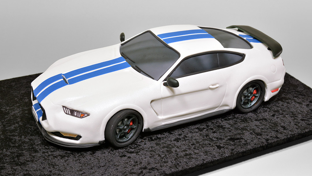 3d Sedan Car Cake Ford Mustang Shelby Yeners Way
