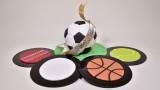 3D Sports Ball Cake