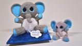 3D Toy Elephant Cake