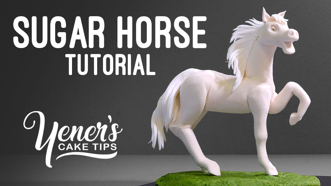 How To Make A Sugar Horse Tutorial Yeners Way