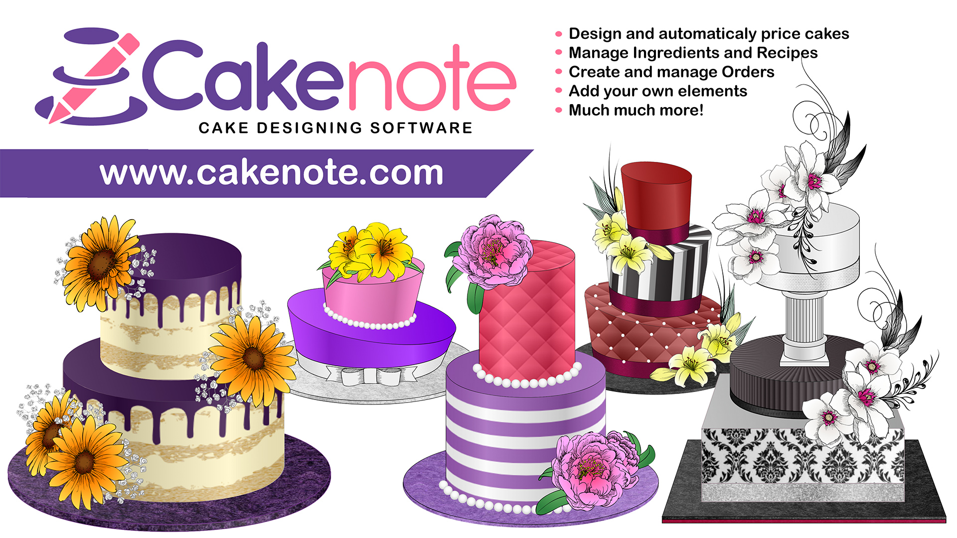 Introducing Cakenote – Cake Designing Software