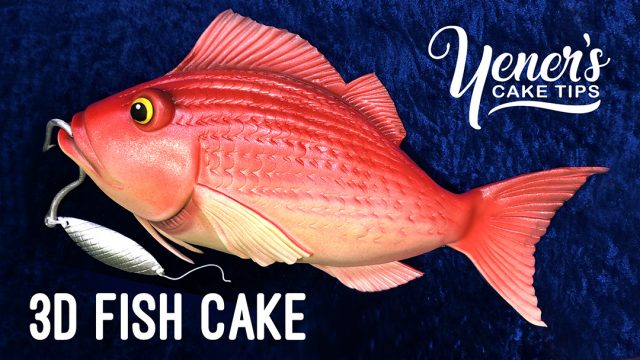 3D Fish Cake Tutorial