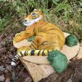 Tiger in the wood