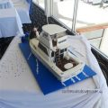 Flybridge Cruiser Boat Wedding Cake
